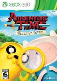 Adventure Time: Finn and Jake Investigations Box Art