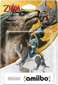 Wolf Link (Twilight Princess) - The Legend of Zelda Box Art