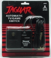 Atari Jaguar Automatic TV/Game Switch Box Art