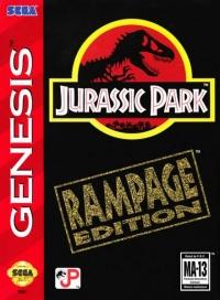 Jurassic Park: Rampage Edition Box Art