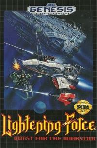 Lightening Force: Quest for the Darkstar Box Art