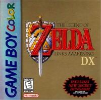 Legend of Zelda, The: Link's Awakening DX (White ESRB Rating) Box Art
