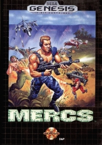 Mercs Box Art