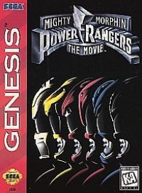 Mighty Morphin Power Rangers: The Movie Box Art