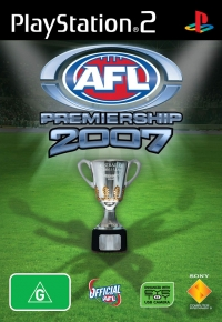 AFL Premiership 2007 Box Art