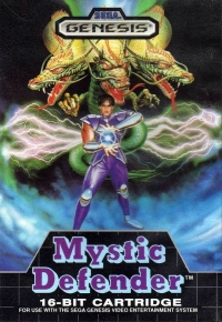 Mystic Defender Box Art