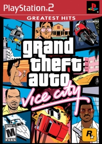 Grand Theft Auto: Vice City - Greatest Hits Box Art