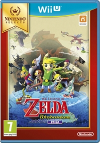 Legend of Zelda, The: The Wind Waker HD - Nintendo Selects [UK] Box Art