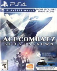Ace Combat 7: Skies Unknown Box Art