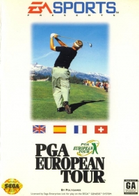 PGA European Tour Golf Box Art