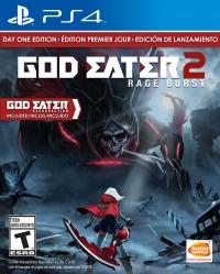 God Eater 2: Rage Burst - Day One Edition Box Art