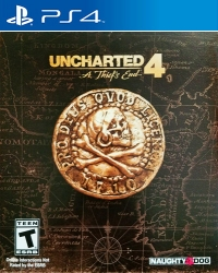 Uncharted 4: A Thief's End - Special Edition Box Art