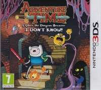 Adventure Time: Explore the Dungeon Because I DON'T KNOW! Box Art