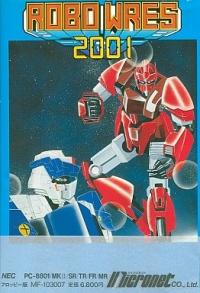 Robo Wres 2001 Box Art
