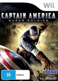 Captain America: Super Soldier Box Art