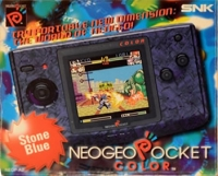 Neo Geo Pocket Color (Stone Blue) Box Art
