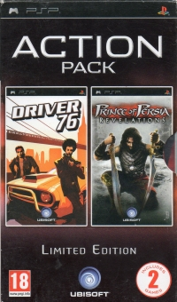 Action Pack: Driver 76 / Prince of Persia: Revelations - Limited Edition [NL] Box Art