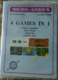 4 Games in 1 Box Art