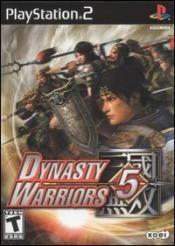 Dynasty Warriors 5 Box Art
