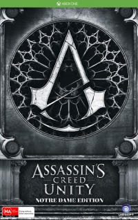Assassin's Creed: Unity - Notre Dame Edition Box Art
