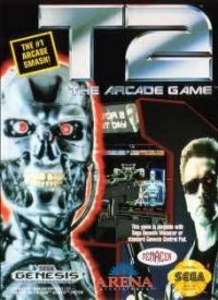 T2: The Arcade Game Box Art
