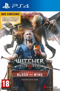 Witcher 3, The: Blood and Wine Limited Edition Box Art