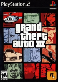 Grand Theft Auto III Box Art