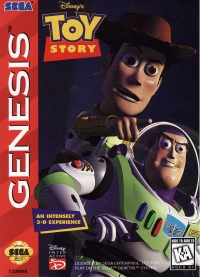 Disney's Toy Story Box Art