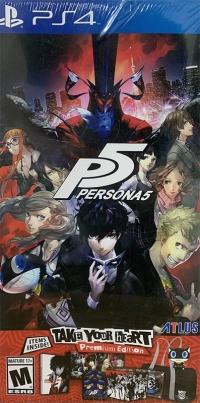 Persona 5 - Take Your Heart Premium Edition Box Art