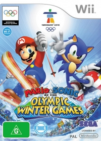 Mario & Sonic at the Olympic Winter Games Box Art