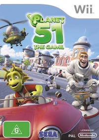 Planet 51: The Game Box Art