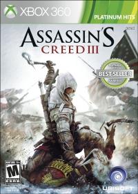 Assassin's Creed III - Platinum Hits Box Art