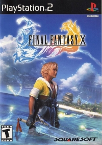 Final Fantasy X Box Art
