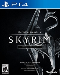 Elder Scrolls V, The: Skyrim - Special Edition Box Art