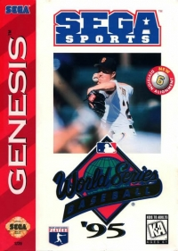 World Series Baseball '95 Box Art
