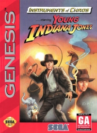 Instruments of Chaos Starring Young Indiana Jones Box Art