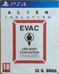 Alien: Isolation - Nostromo Edition Steelbook Box Art