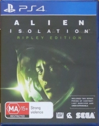 Alien: Isolation - Ripley Edition Box Art