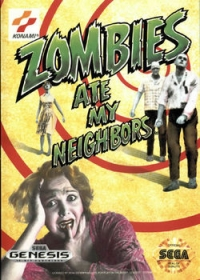 Zombies Ate My Neighbors Box Art
