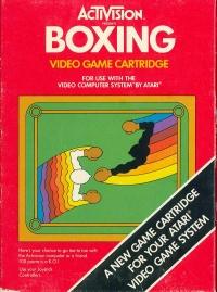 Boxing (Blue Text Label) Box Art