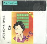 5x5 Box Art