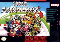 Super Mario Kart Box Art