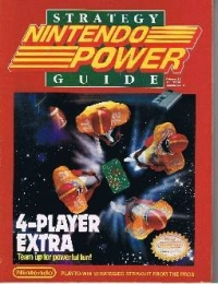 4-Player Extra Nintendo Power Strategy Guide Box Art