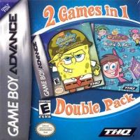 2 Games In 1 Double Pack: SpongeBob SquarePants: Battle for Bikini Bottom / The Fairly OddParents! Breakin' Da Rules Box Art