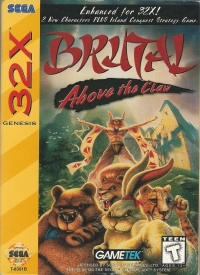 Brutal: Above the Claw Box Art