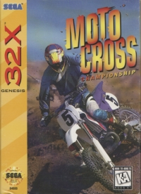 Motocross Championship Box Art