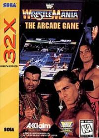 WWF WrestleMania: The Arcade Game Box Art