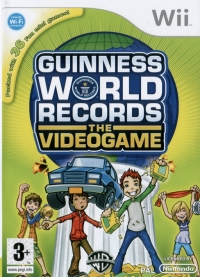 Guinness World Records: The Videogame Box Art