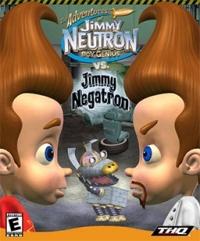 Adventures of Jimmy Neutron, The: Boy Genius Vs. Jimmy Negatron Box Art