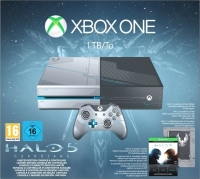 Microsoft Xbox One 1TB - Halo 5: Guardians [EU] Box Art